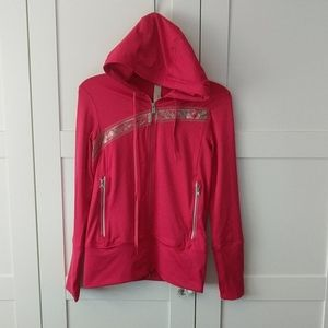Like New Reebok Hoodie Jacket